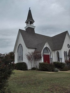 The Church of the Holy Comforter , established in 1871.  This building completed 1893.