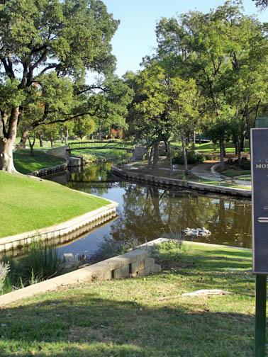 Walk entered the park.